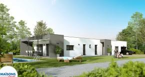 maison moderne linea vue 3D 2