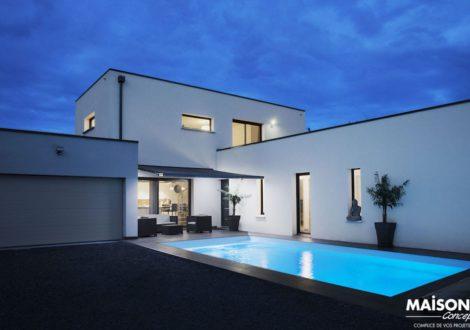 Maison moderne livrée
