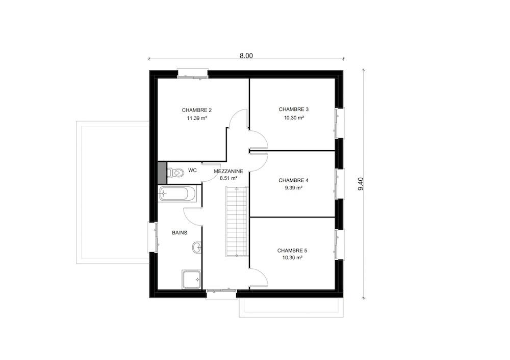 CONCEPT 5ch etage