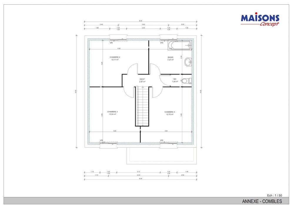 Concept 4 ch etage