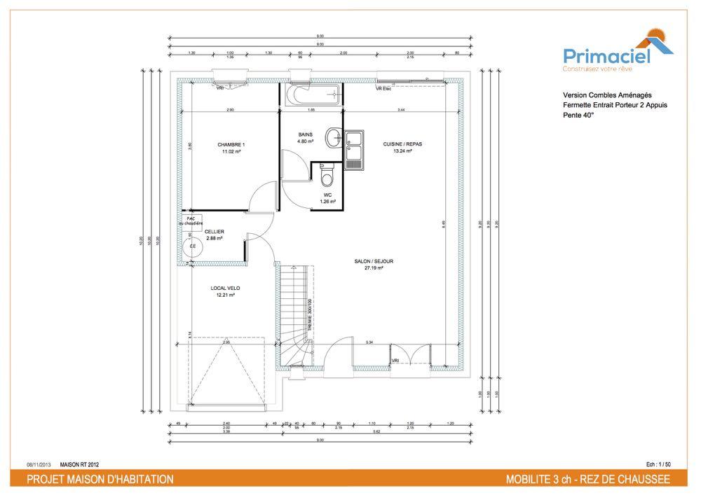 Plan Primaciel Mobilite maison low cost 1-