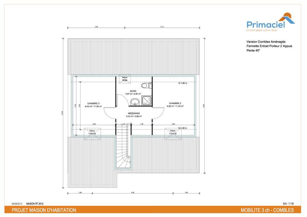 Plan Primaciel Mobilite maison low cost 2