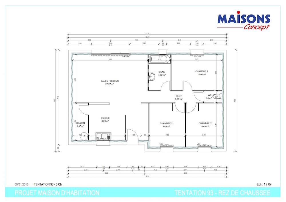Plan TENTATION 93 - RT 2012