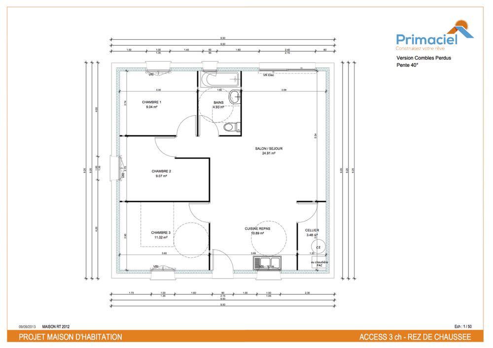 Plan primaciel Access maison pas cher 2
