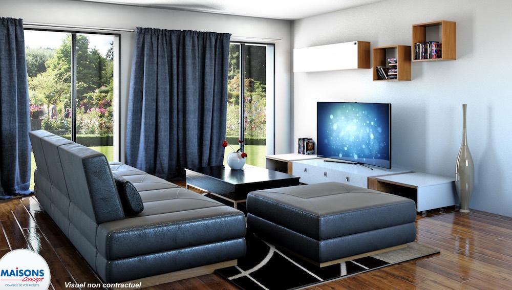 tentation city maisons de ville contemporaine. Black Bedroom Furniture Sets. Home Design Ideas