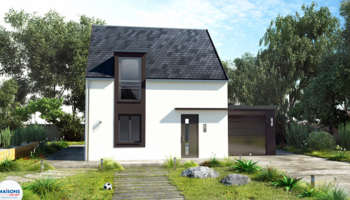 Modele de maison a construire awesome gorgeous modele de for Construire sa maison modele