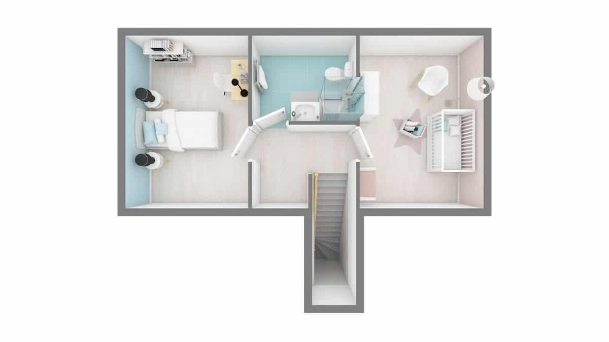 maison essentiel plan etage