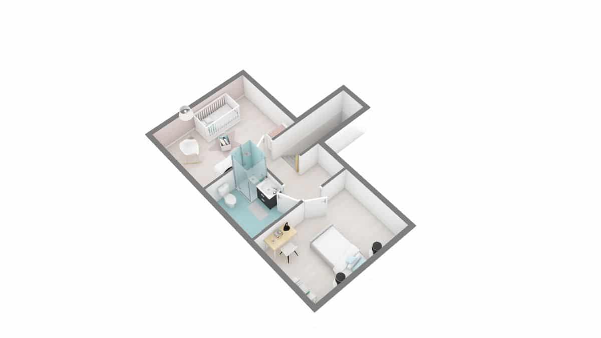 maisons Concept - Primaciel low cost -02_Dynamique-g1-axo_etage