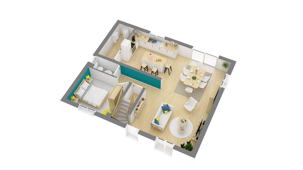 maisons concept-Epervière-g0-axo_rdc