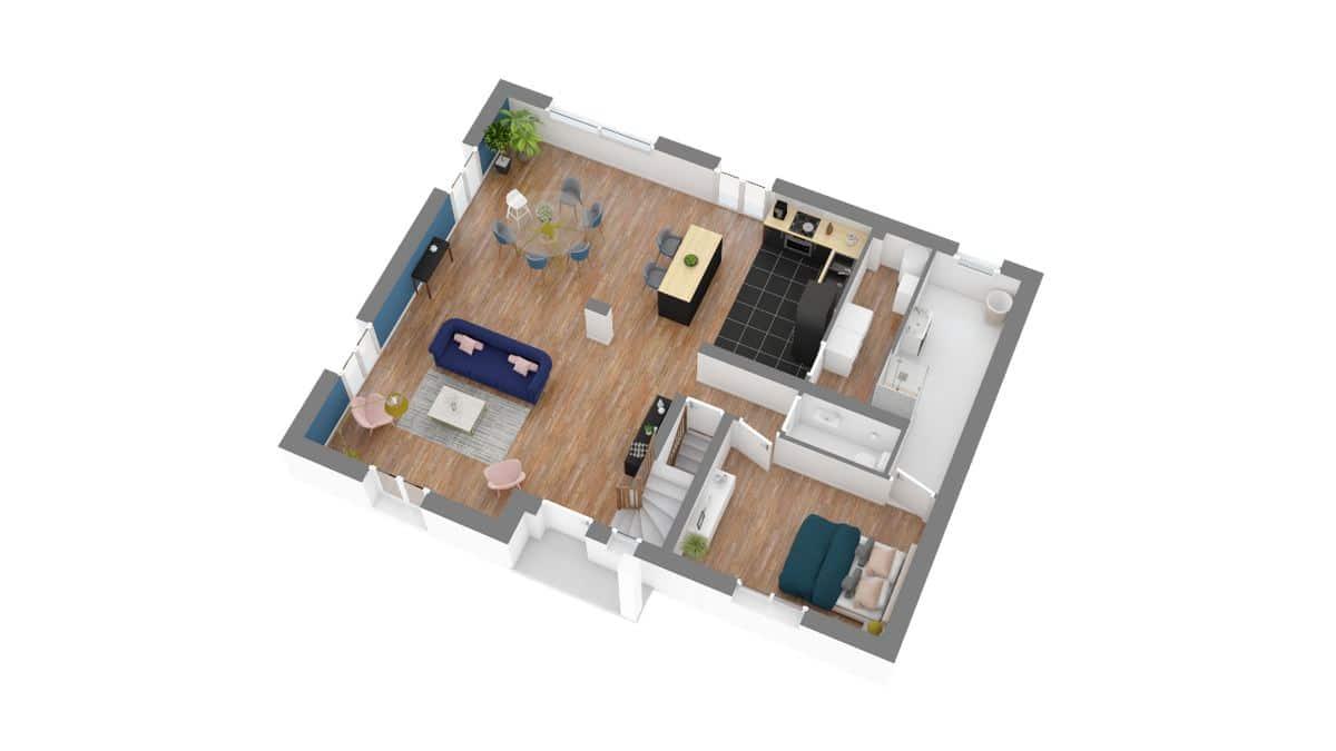 maisons concept_City Cosy-g0-axo_rdc