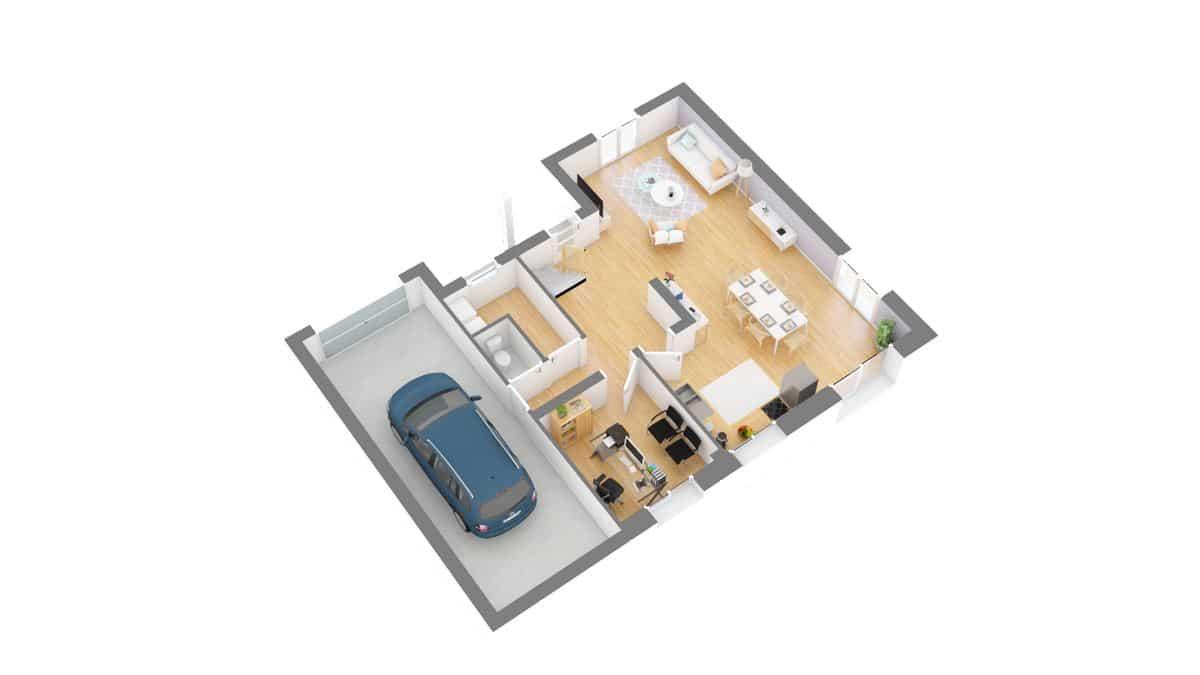 maisons concept_GRAPHITE-g0-axo_rdc