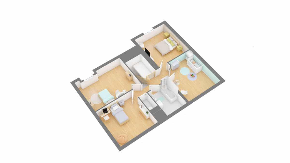 maisons concept_GRAPHITE-g1-axo_etage