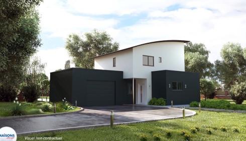 Concept maison stunning une maison autonome nergie for Photo maison contemporaine