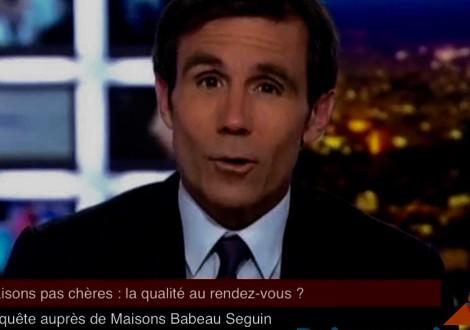 Primaciel de Maisons Concept au 20h de France2