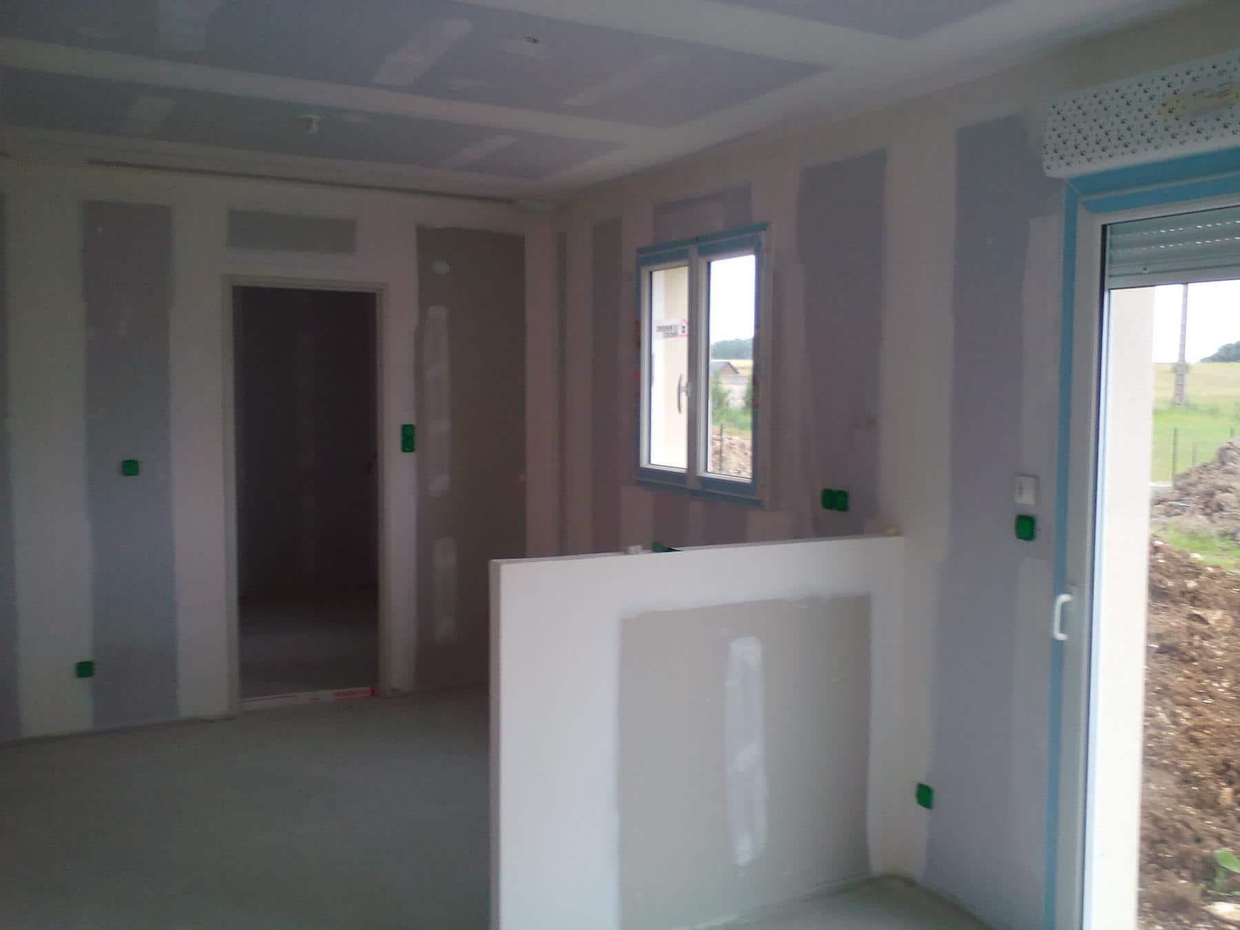 r ception de 2 maisons au mois de juillet. Black Bedroom Furniture Sets. Home Design Ideas