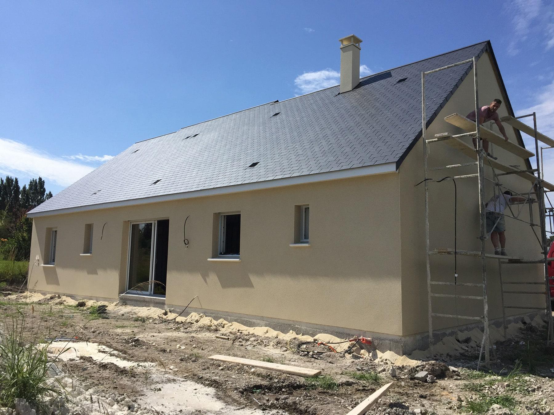 Projet en cours de construction sur chinon suite 3 for Projet de construction maison