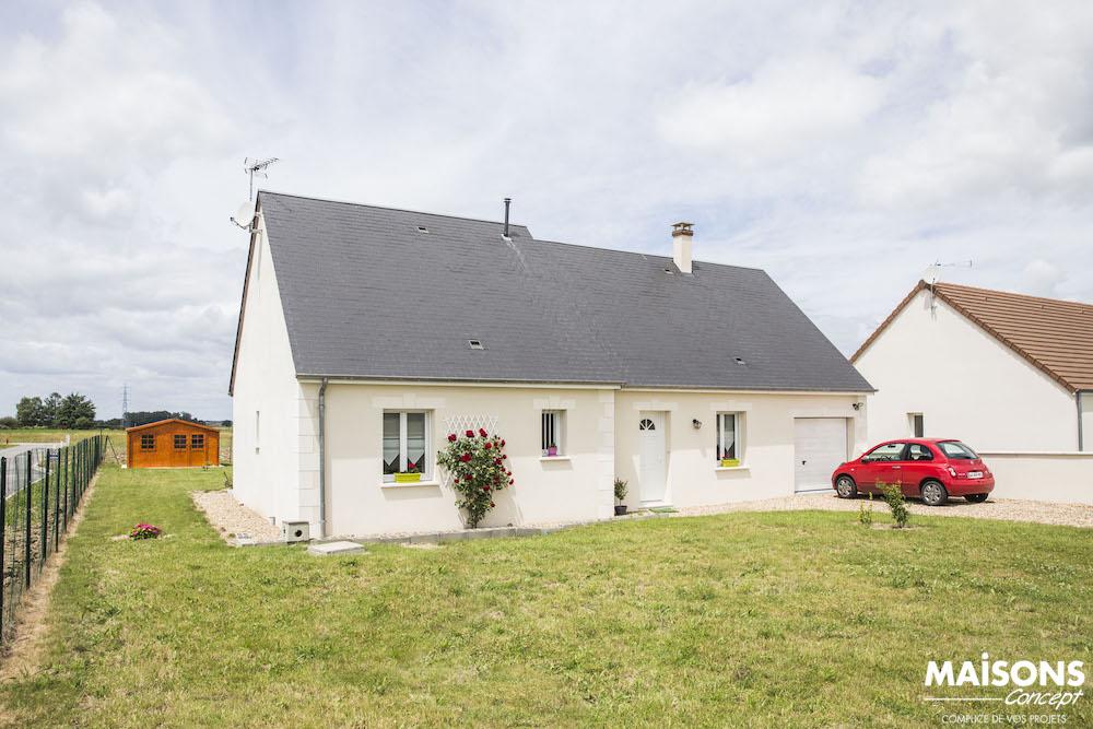Maison de plain pied construction du mod le privil ge for Avis sur la maison des travaux