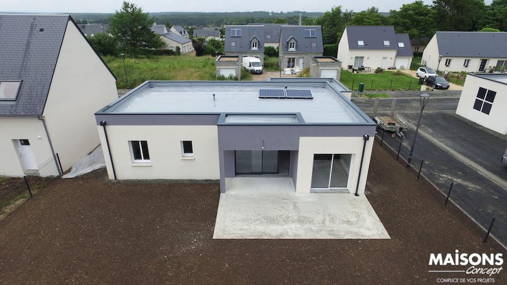 Nouveau Photo Maison neuve - Maison moderne à toit plat DW03