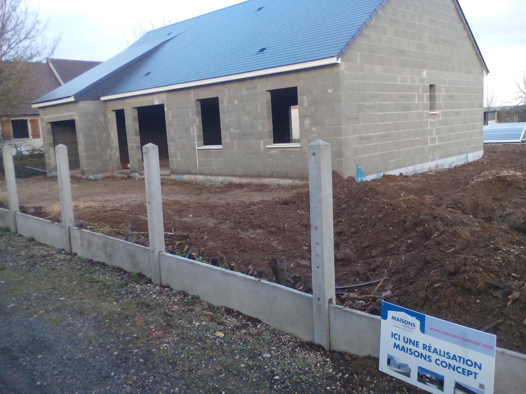 Suivi de notre construction sur blois rt 2012 for Construction rt 2012