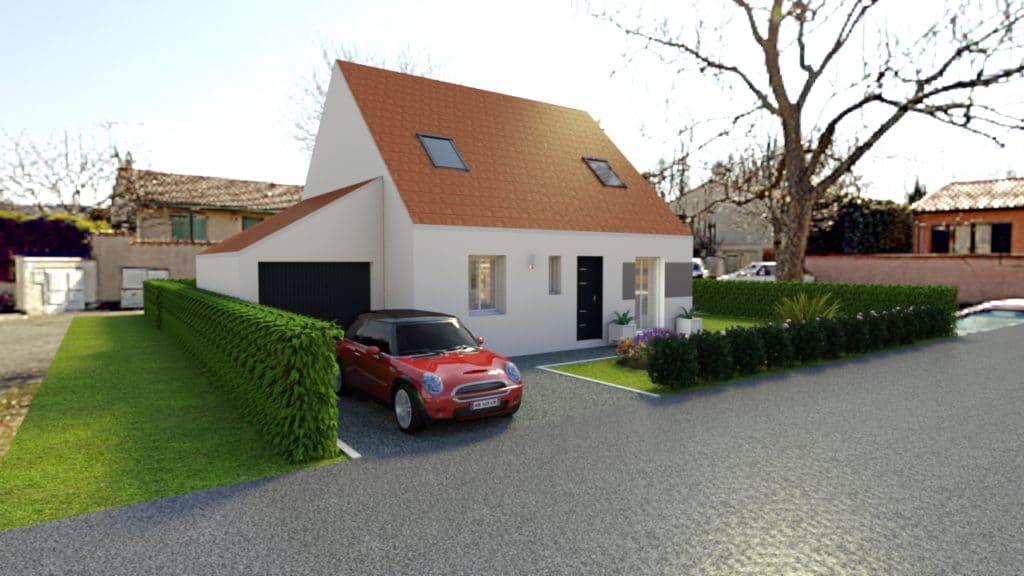 Maisons concept constructeur centre val de loire for Porte ouverte constructeur