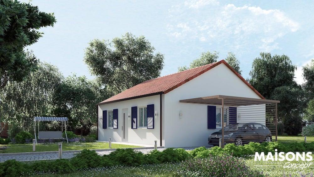 primaciel gamme low cost maisons concept. Black Bedroom Furniture Sets. Home Design Ideas