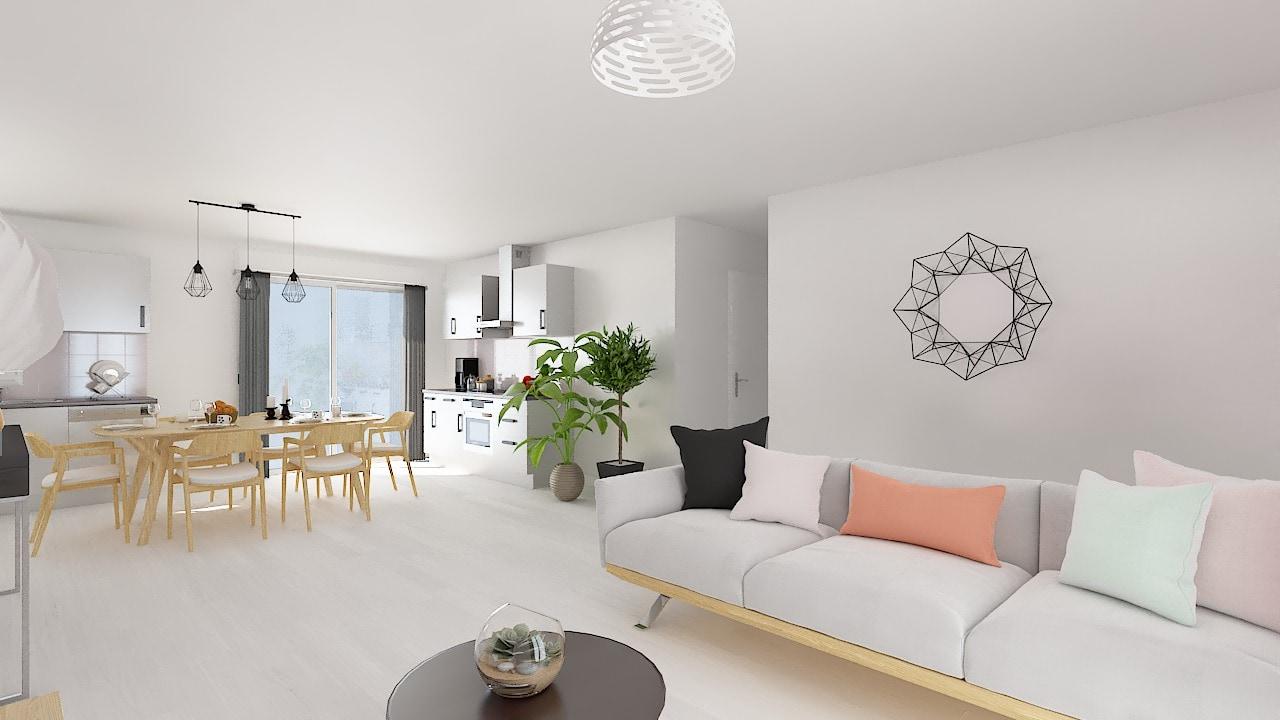 Maisons Concept plan _TOPAZE_125_4_ch-b-sejour