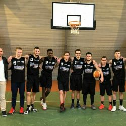 équipe de basket juniors d'Angers