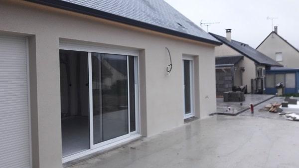 constructions achev es et chantier en cours construire sa maison pas cher constructeur low. Black Bedroom Furniture Sets. Home Design Ideas