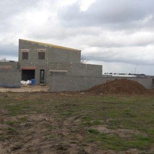 maison avec murs