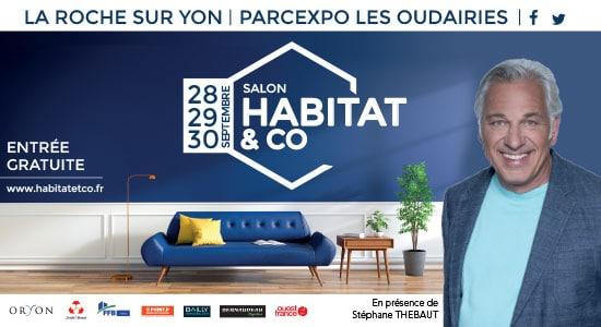 salon habitat co la roche sur yon du 28 au 30. Black Bedroom Furniture Sets. Home Design Ideas