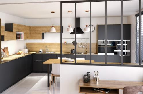 keliade-cuisine-stratifie-mat-noir-beige