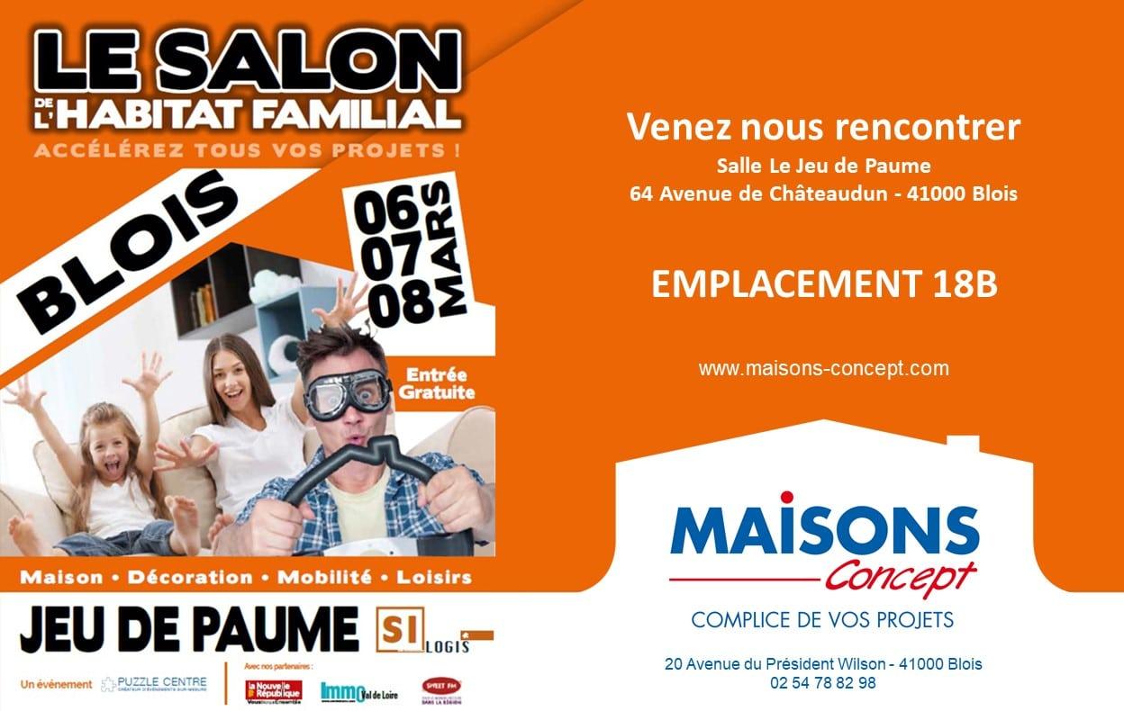 Visuel du salon de l'habitat familial de Blois