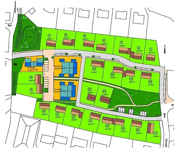 Plan lotissement d'Amboise
