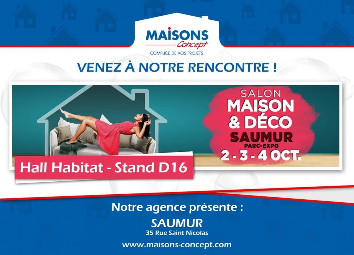 Maisons Concept au salon de Saumur