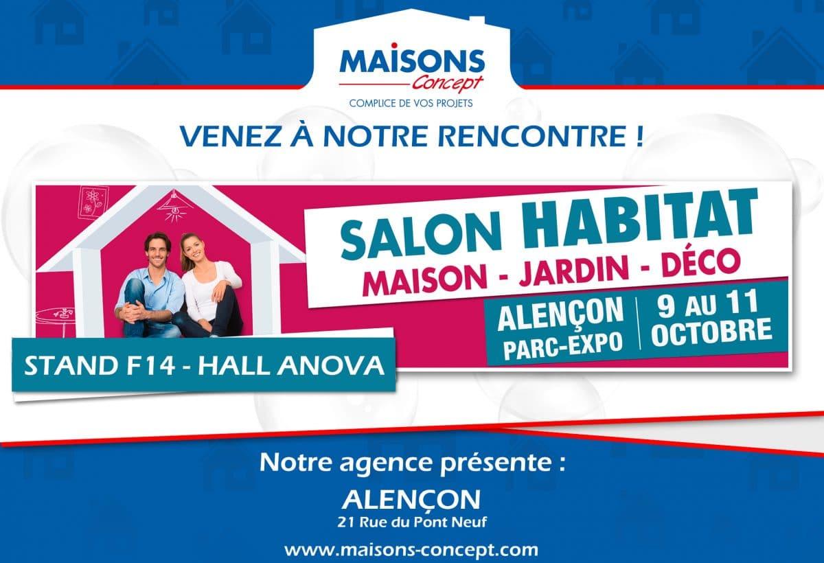 Maisons Concept au salon d'Alençon