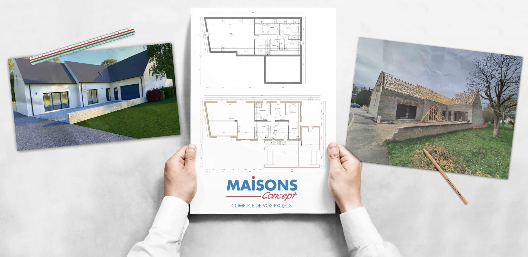 Construction Maisons Concept à Loches