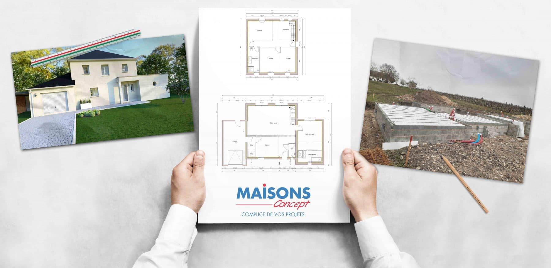 Projet de construction Maisons Concept à Chinon