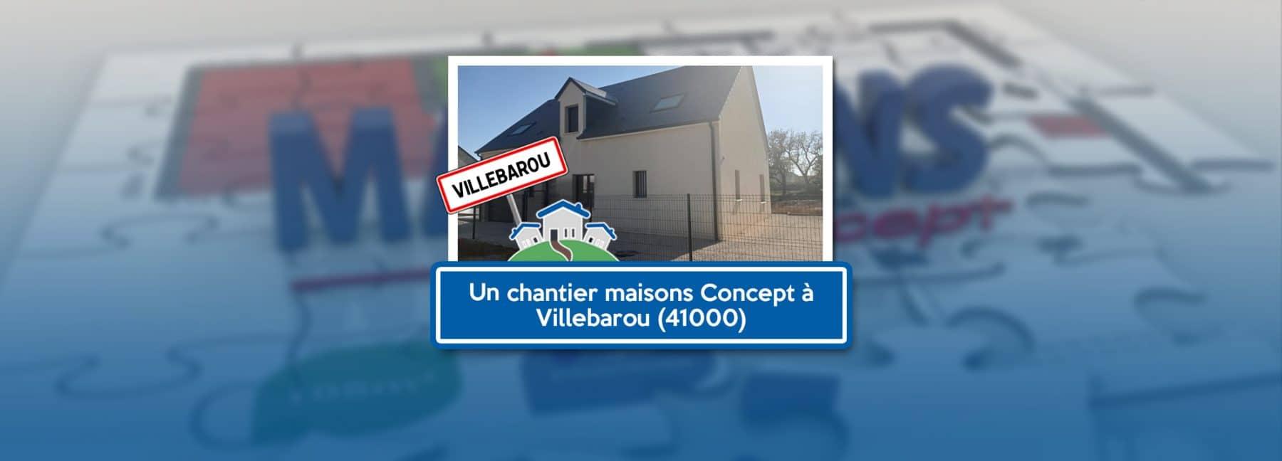 Projet de construction Maisons Concept à Villebarou 2