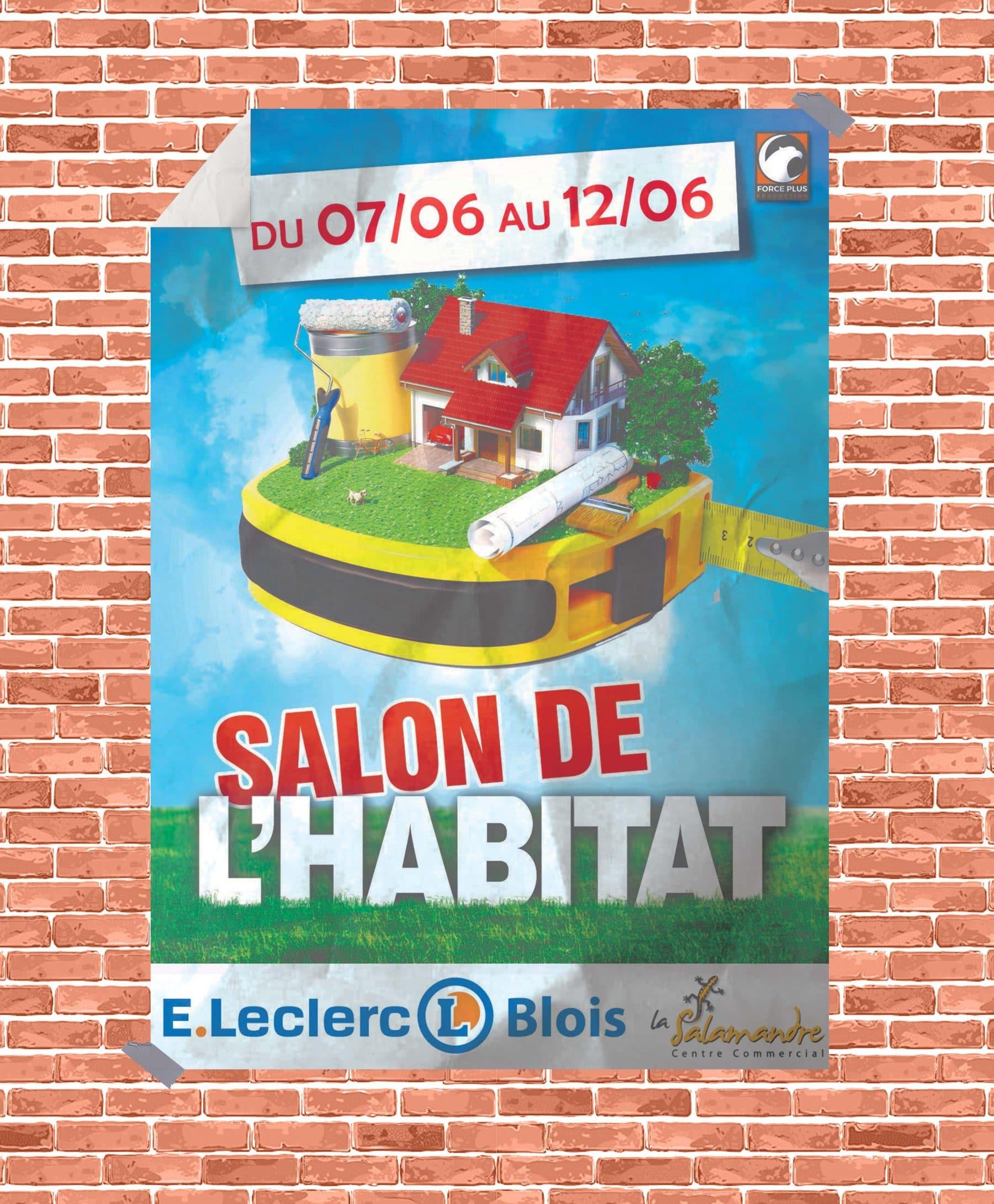 Salon habitat leclerc blois maisons concept
