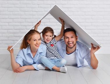 securite garanties maisons concept